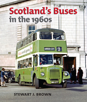 caption|Scotland's Buses in the 1960s: front cover. The book is a treasure trove of previously unseen colour images from a vanished era.