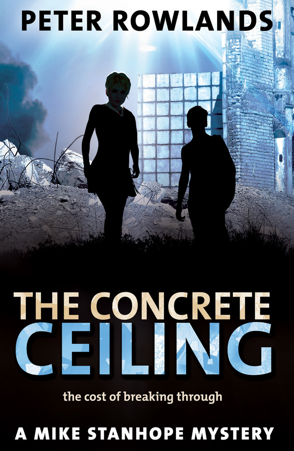 The Concrete Ceiling by Peter Rowlands – front cover
